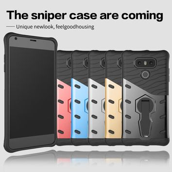 2017 Newest Hot Case For LG G6 Frosted Dual Layer Rugged Armor 2 In 1 Combo Dual Layer Full Phone Case For LG6 LG G6 Case 5.7