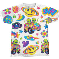 Lisa Frank Sticker Shirt