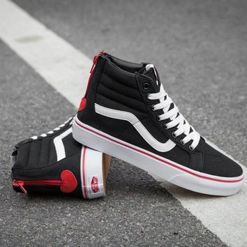 Vans custom for Valentine's Day SK8-Hi A38GRNA6 Sneaker Casual Shoes