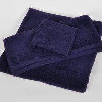 Navy MicroCotton Luxury Towels
