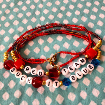 Red Team Necklaces