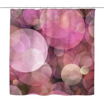 Colorful Bubbles Shower Curtain