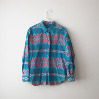 Vintage Aztec Navajo Button up