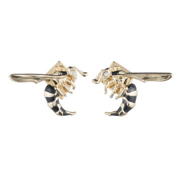 Enameled Hornet Post Earring | Alexis Bittar