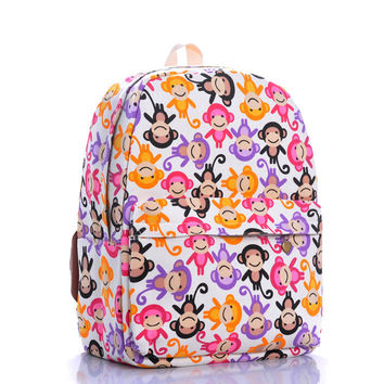 Canvas Print Travel Backpack = 4887996996
