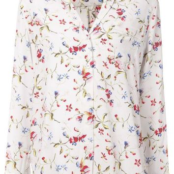 DCCKIN3 Equipment floral print blouse