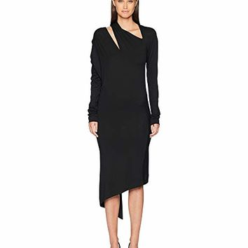 Vivienne Westwood Timans Jersey Long Sleeve Dress