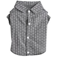 Bond & Co. Charcoal Arrow Pattern Button-Down Dog Shirt | Petco