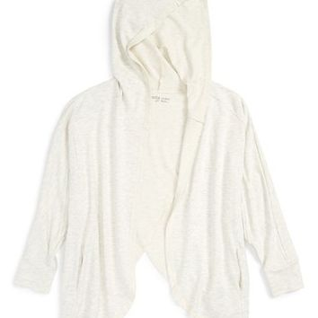 Zella Girl Draped Hoodie (Little Girls & Big Girls) | Nordstrom