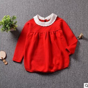 Baby Knitted Rompers