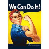 Rosie the Riveter Poster // 13x19 We Can Do It by PosterPalace