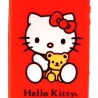 Hello Kitty Silicone iPhone 4/4s Case - Red (22509-HK)