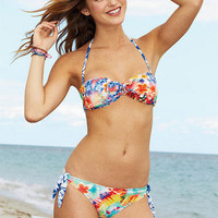 Tie front bandeau & Long Side Tie Hipster, Seperate
