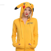 Unicorn Pokemon Umbreon fleece hood  Costume Pikachu stitch firedragon Animals panda Sweaters