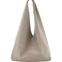 THE ROW Bindle Cashmere Knotted Handbag