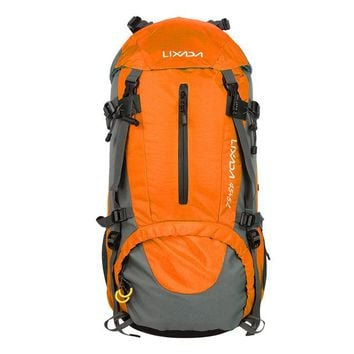 50L Waterproof Mountaineering Backpack with Rain Cover (3 colors available)
