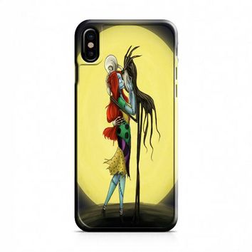 Nightmare Before Christmas (sepia frame) iPhone X Case