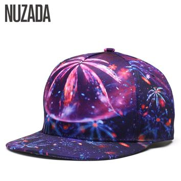 Brand NUZADA Quality Printing Women Men Baseball Cap Neutral Couple Original Bone Caps Spring Summer Autumn Cotton Hats Couple