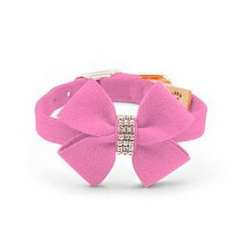 Nouveau Bow Collar — Perfect Pink