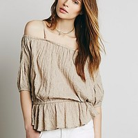 Free People Womens Shades of Cool Top