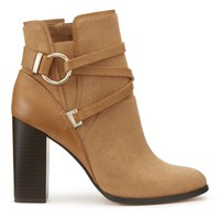 DALLAS Tan Circle Wrap Boots | Missselfridge