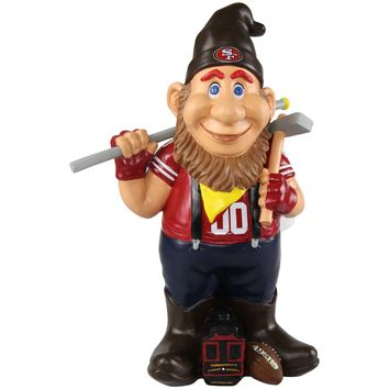 San Francisco 49Ers Official NFL Caricature Gnome (PRE ORDER: SHIPS EARLY TO MID SEPTEMBER)