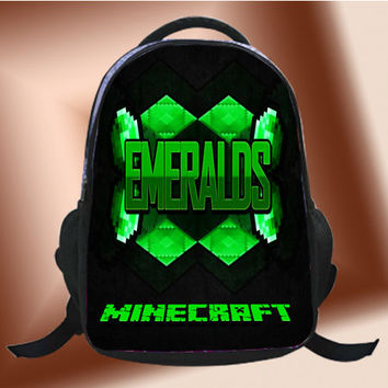 Minecraft Emeralds - SchoolBags.