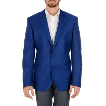 Hugo Boss Mens Jacket Long Sleeves Blue HUTCH