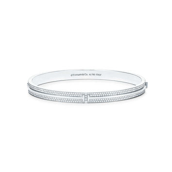 Tiffany & Co. - Tiffany T:Two Hinged Bracelet