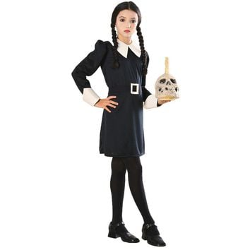 Addams Family Wednesday Kids Costume Large 12-14