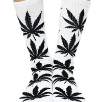 WHITE PLANTLIFE SOCKS
