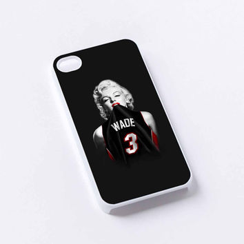 marlyn monroe basketball iPhone 4/4S, 5/5S, 5C,6,6plus,and Samsung s3,s4,s5,s6