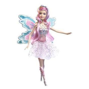 Barbie Fairytopia Mermaidia Glitter-Swirl Fairy Doll