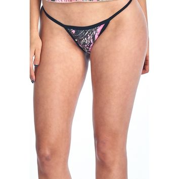 Women's Authentic True Timber Orange Thong S*xy Camo Lingerie Panties