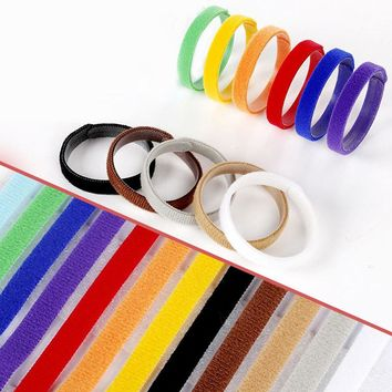 12Pcs/lot Dog's Collars Puppy Kitten Identification Collar Kitten Whelping ID Collar Bands For Small Dogs Pet Supplies