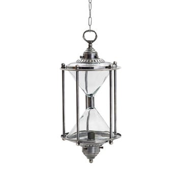 """Eclipse Home Collection Hanging Hourglass Light 19"""" H  x 9"""" Dia.· Available with 25"""" Adjustable Chain"""