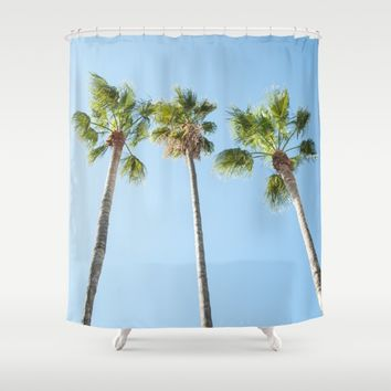 Palm trees Shower Curtain by Xiari_photo | Society6