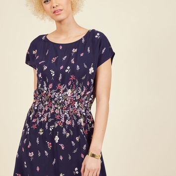 Ever the Mentor Floral Dress