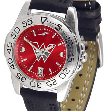 Western State Colorado University Mountaineers Ladies' Sport AnoChrome Watch