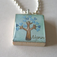 Nonni Scrabble Tile Necklace