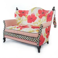 MacKenzie-Childs - Poppy Loveseat