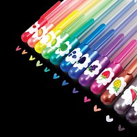 Yummy Yummy Scented Colored Glitter Gel Pens by OOLY