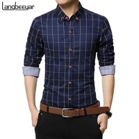 Men's Plaid Button Down Shirt