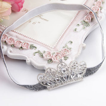 Glittery Tiara Headband for Babies and Toddlers