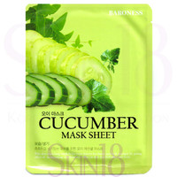 Baroness Cucumber Mask Sheet  *exp.date 09/18