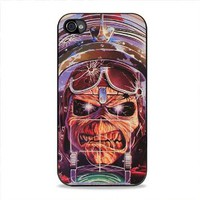 Aces High Iron Maiden for Iphone Case (iPhone 4/4s White case)