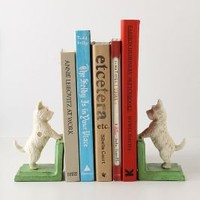 Bentley The Westie Bookends - Anthropologie.com