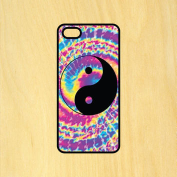 Trippy Yin Yang Art Phone Case iPhone 4 / 4s / 5 / 5s / 5c /6 / 6s /6+ Apple Samsung Galaxy S3 / S4 / S5 / S6