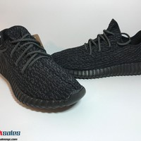 Adidas Yeezy Boost 350 Pirate Black V1 1.0 2015 AQ2659 Size 11 New 100% Auth