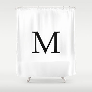 Best Initial Shower Curtain Products on Wanelo